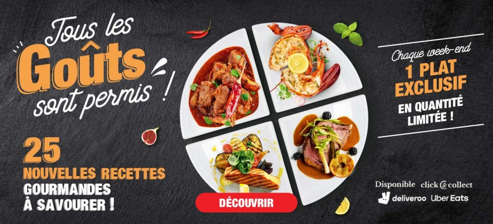 Flunch à Vannes : Nouvelles recettes gourmandes à savourer !