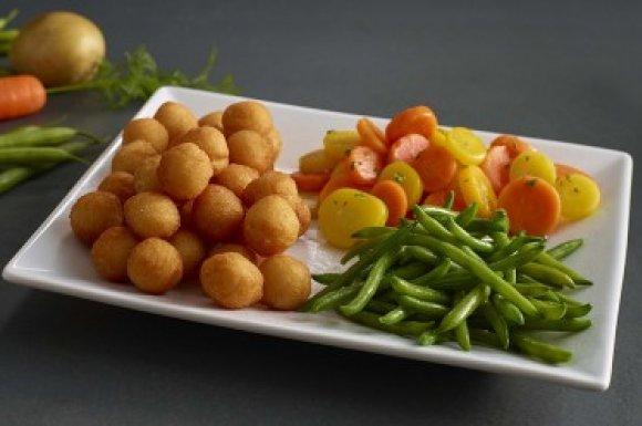 Légumes chauds buffet à volonté Vannes