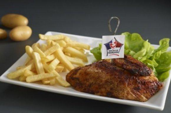 1/4 poulet rôti Vannes