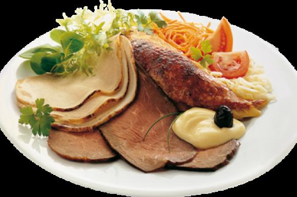 Assiette anglaise légumes chauds à volonté Vannes