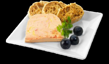Bloc de foie gras avec morceaux Vannes